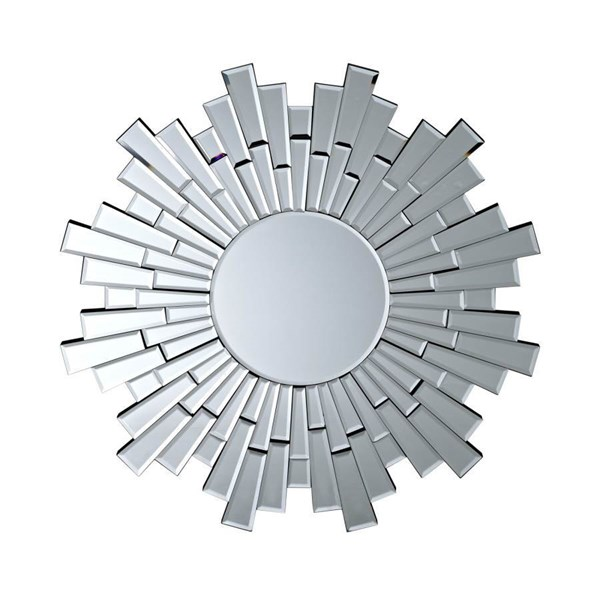 Linked Silvered Glass Wall Mirror W/Round Shape EEI-207