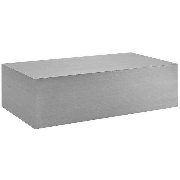 Modway Furniture Cast Coffee Table EEI-2098-SLV