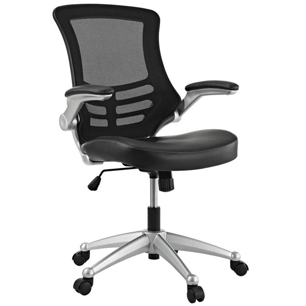 Modway Furniture Attainment Black Office Chair EEI-210-BLK