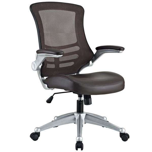 Modway Furniture Attainment Brown Office Chair EEI-210-BRN
