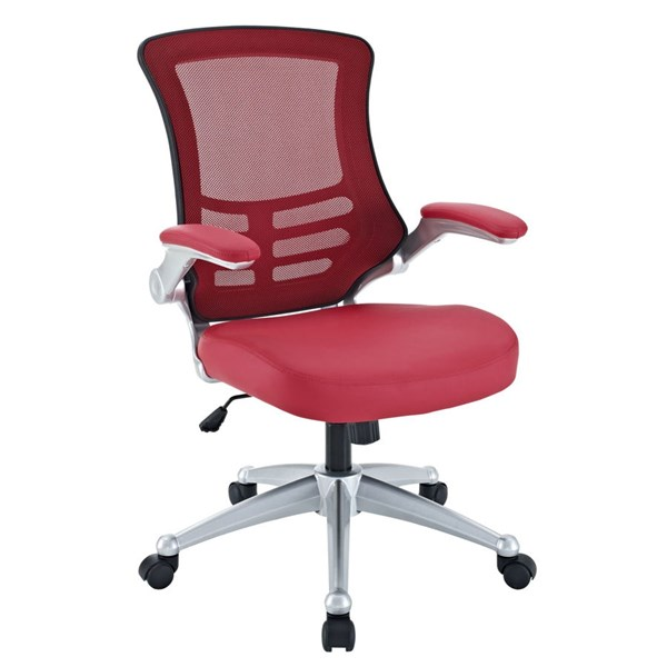 Modway Furniture Attainment Red Office Chair EEI-210-RED