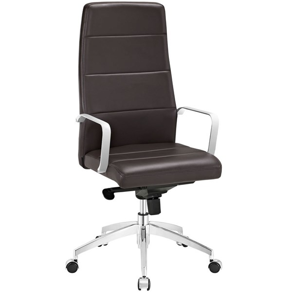 Modway Furniture Stride Brown Highback Office Chair EEI-2120-BRN