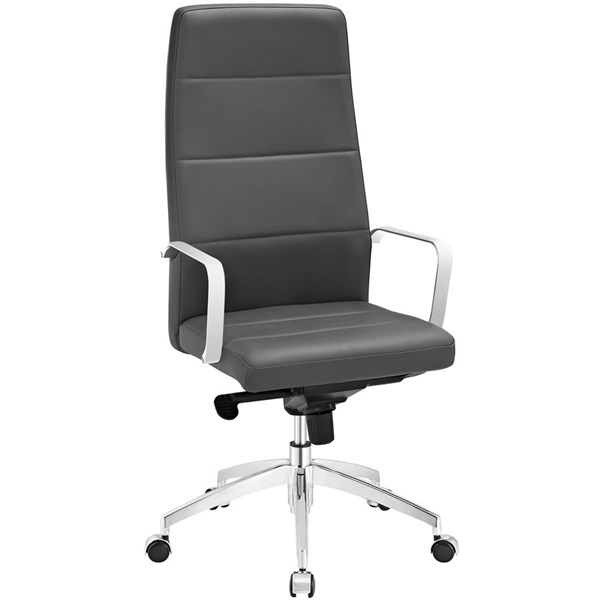 Modway Furniture Stride Gray Highback Office Chair EEI-2120-GRY