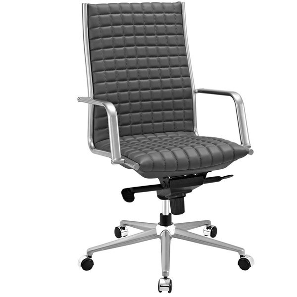 Modway Furniture Pattern Gray Highback Office Chair EEI-2122-GRY