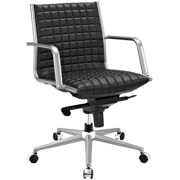 Modway Furniture Pattern Black Office Chair EEI-2123-BLK
