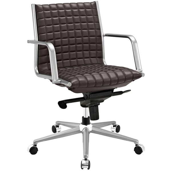 Modway Furniture Pattern Brown Office Chair EEI-2123-BRN