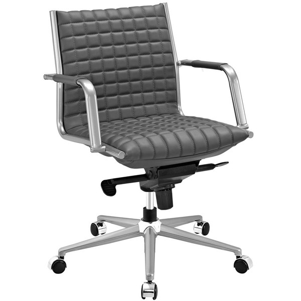 Modway Furniture Pattern Gray Office Chair EEI-2123-GRY