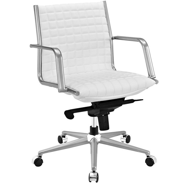 Modway Furniture Pattern White Office Chair EEI-2123-WHI