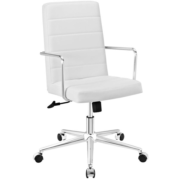 Modway Furniture Cavalier White Highback Office Chair EEI-2124-WHI