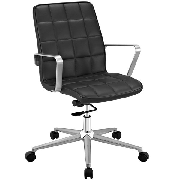 Modway Furniture Tile Black Office Chair EEI-2127-BLK