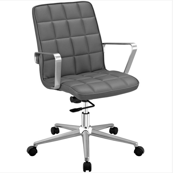 Modway Furniture Tile Gray Office Chair EEI-2127-GRY