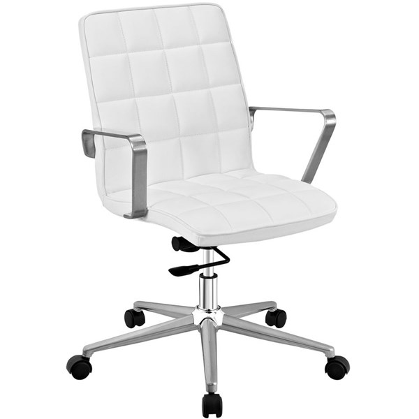 Modway Furniture Tile White Office Chair EEI-2127-WHI