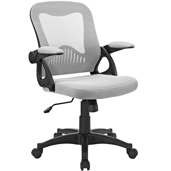 Advance Gray Nylon Mesh Plastic Office Chair EEI-2155-GRY