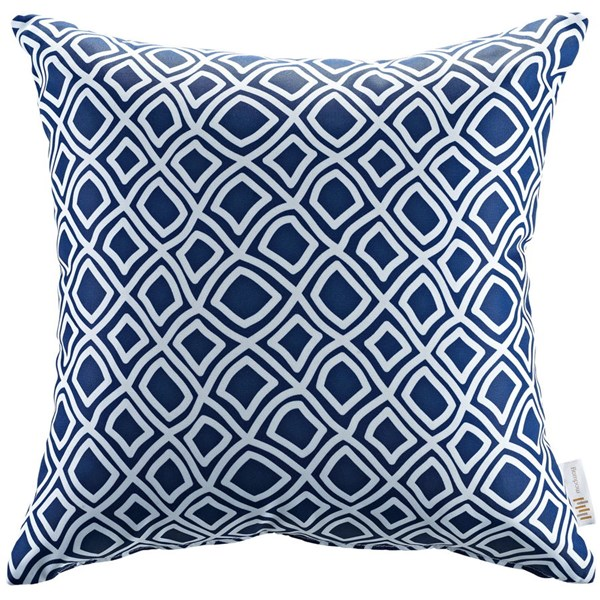 Modway Furniture Blue Outdoor Patio Pillow EEI-2156-BAL