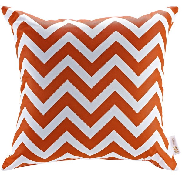 Modway Chevron Fabric Non-Woven Outdoor Patio Pillow EEI-2156-CHE