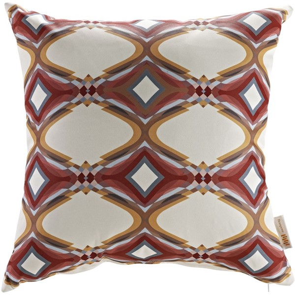 Modway Furniture Red Outdoor Patio Pillows EEI-2401-REP-VAR