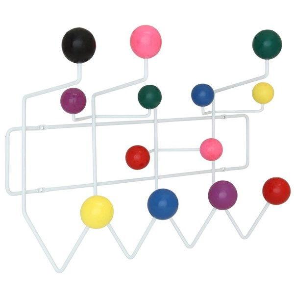 Gumball Wood Iron Decorative Hook Coat Rack EEI-216-MULTI