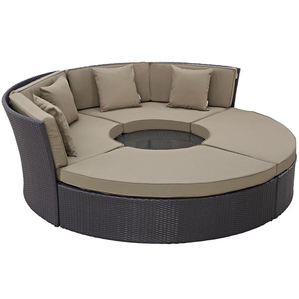 Modway Furniture Convene Outdoor Patio Daybed Sets EEI-2171-PO-CL-VAR