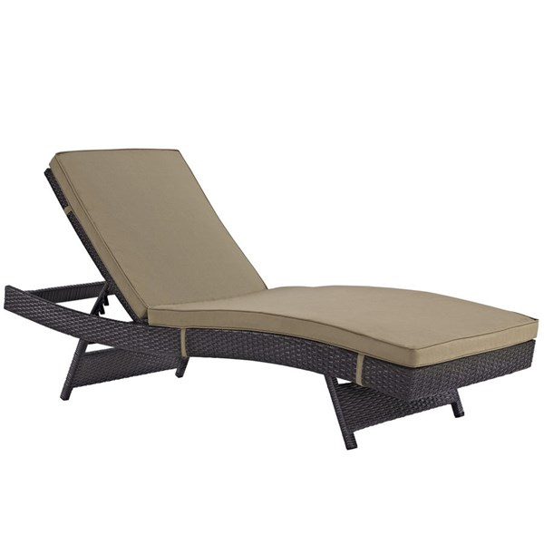 Modway Furniture Convene Outdoor Patio Chaise EEI-2179-PO-CL-VAR