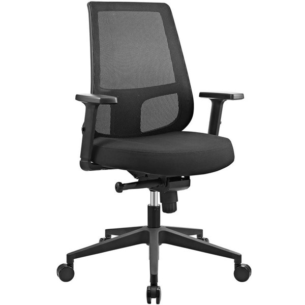 Modway Furniture Pump Office Chair EEI-2215-BLK