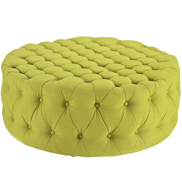 Modway Furniture Amour Wheatgrass Ottoman EEI-2225-WHE
