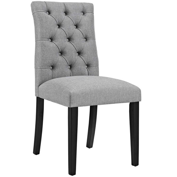 Modway Furniture Duchess Light Gray Dining Chair EEI-2231-LGR
