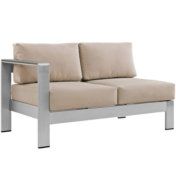 Modway Furniture Shore Outdoor Left Arm Loveseats EEI-2265-OS-LS-VAR