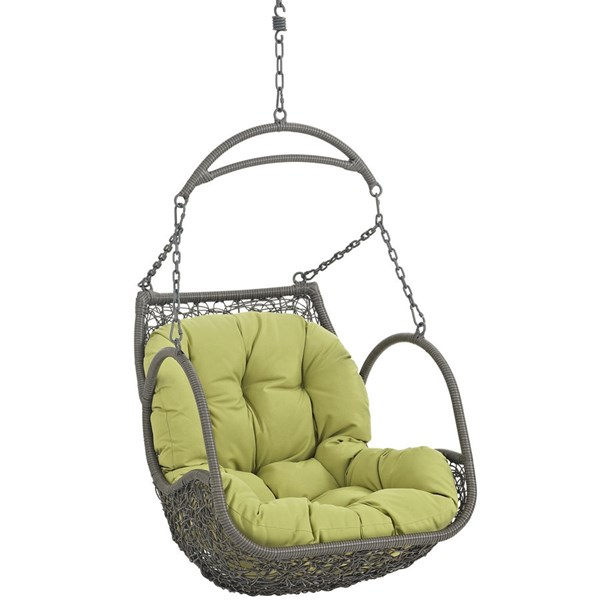 Modway Furniture Arbor Peridot Outdoor Patio Swing Chair EEI-2279-PER-SET