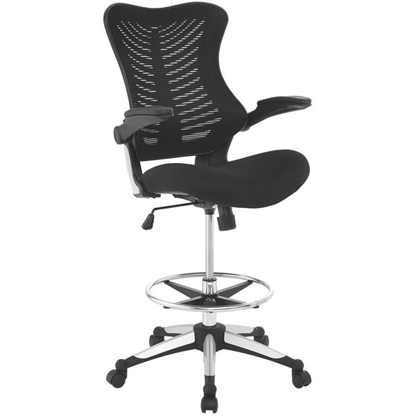 Modway Furniture Charge Drafting Chair EEI-2286-BLK
