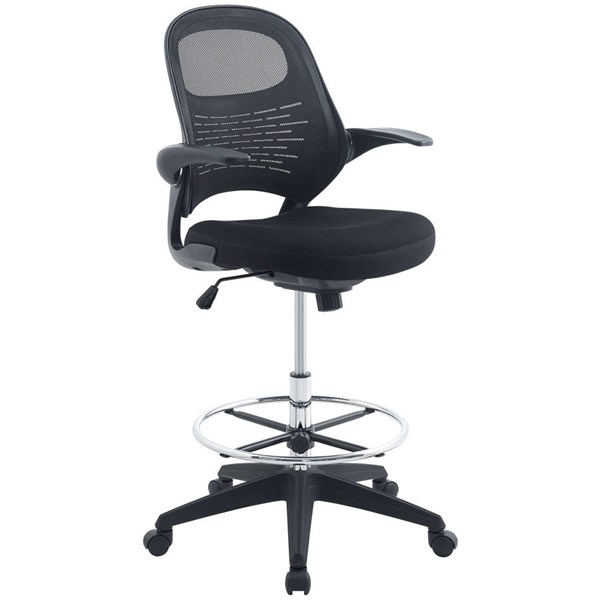 Modway Furniture Advance Drafting Chair EEI-2290-BLK