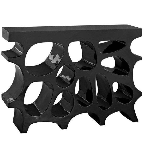Modway Furniture Wander Black Console Table EEI-2321-BLK