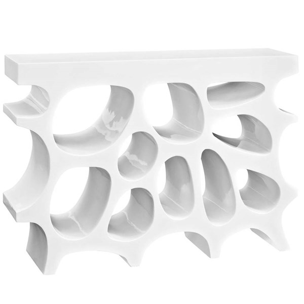 Modway Furniture Wander White Console Table EEI-2321-WHI