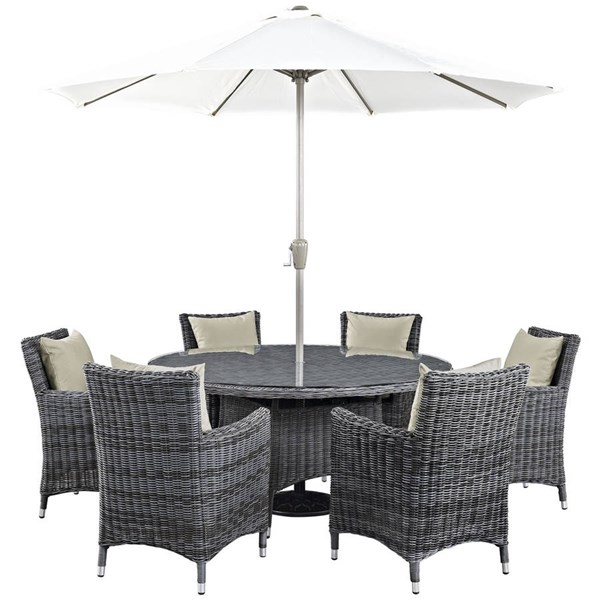 Modway Furniture Summon 8pc Outdoor Dining Sets EEI-2329-PO-DS-VAR
