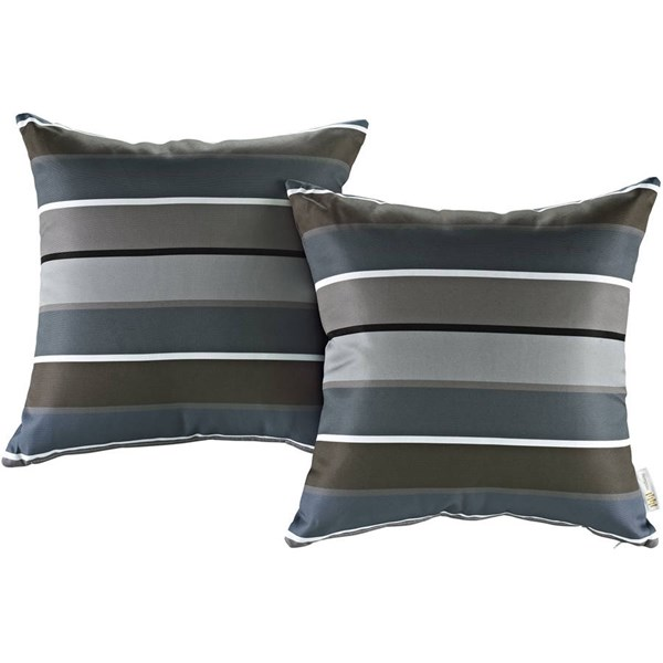 2 Modway Furniture Outdoor Patio Pillows EEI-2401-STR