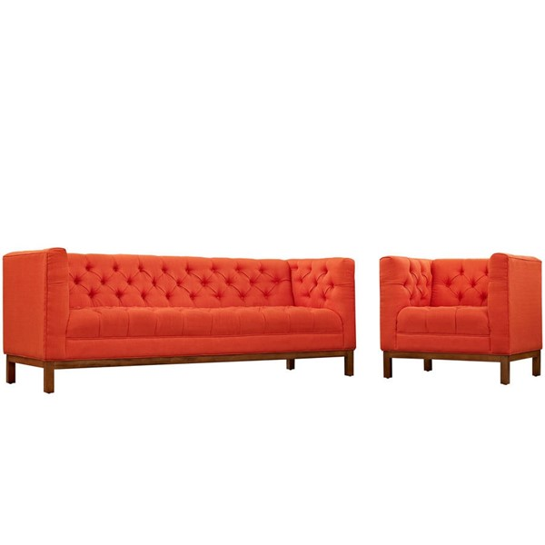 Modway Furniture Panache Fabric 2pc Living Room Sets EEI-2437-S-VAR