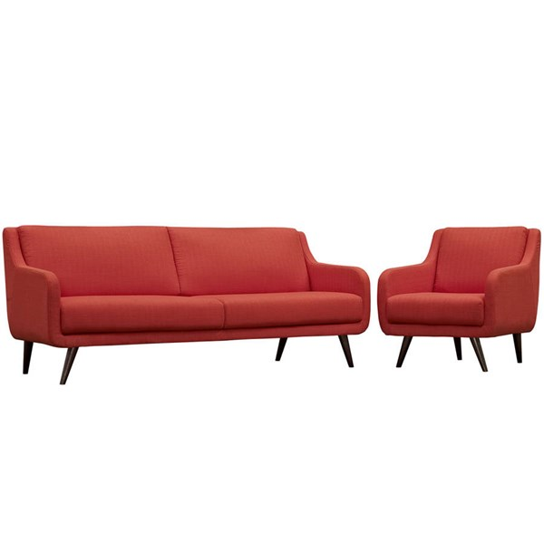 Modway Furniture Verve Cushion 2pc Living Room Sets EEI-2447-LR-SET-VAR