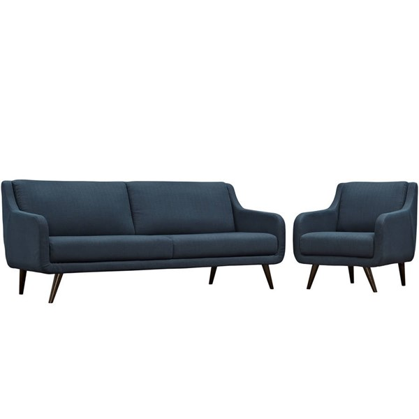 Modway Furniture Verve Azure Cushion 2pc Living Room Set EEI-2447-AZU-SET