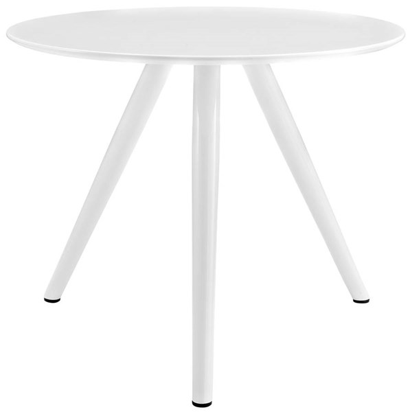 Modway Furniture Lippa 36 Inch Round Wood Top Dining Table with Tripod Base EEI-2521-WHI