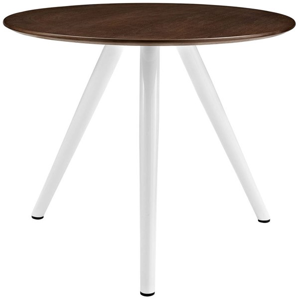 Modway Furniture Lippa 36 Inch Round Dining Table with Tripod Base EEI-2523-WAL