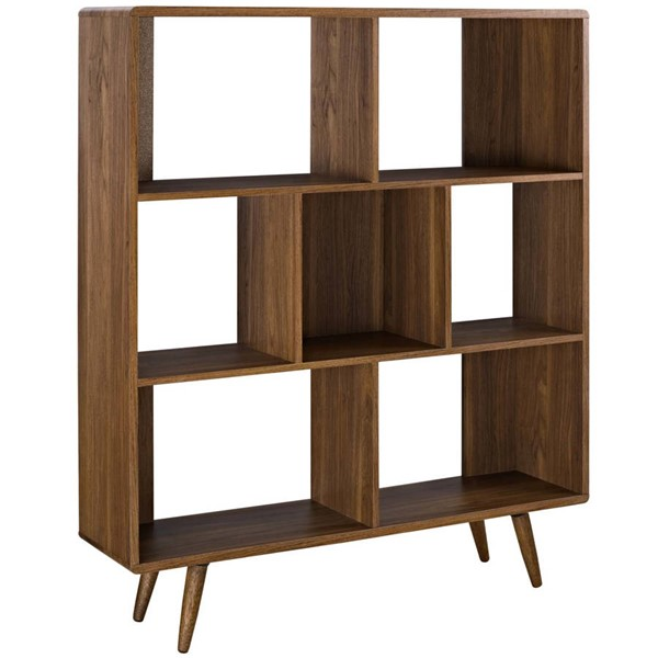 Modway Furniture Transmit Walnut Bookcase EEI-2529-WAL