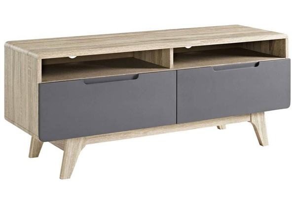 Modway Furniture Origin Natural Gray 47 Inch TV Stand EEI-2533-NAT-GRY
