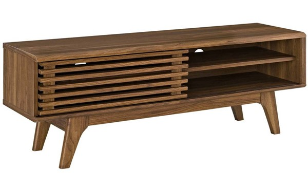 Modway Furniture Render Walnut 48 Inch TV Stand EEI-2539-WAL