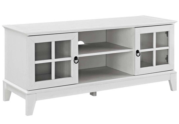 Modway Furniture Isle White 47 Inch TV Stand EEI-2544-WHI