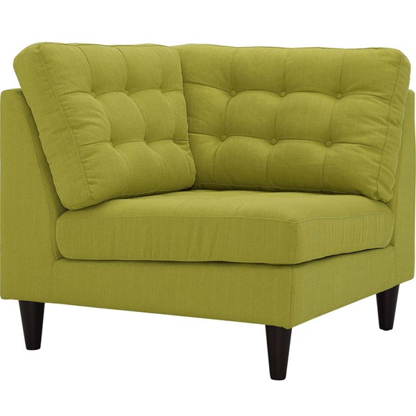 Modway Furniture Empress Wheatgrass Upholstered Corner Sofa EEI-2610-WHE