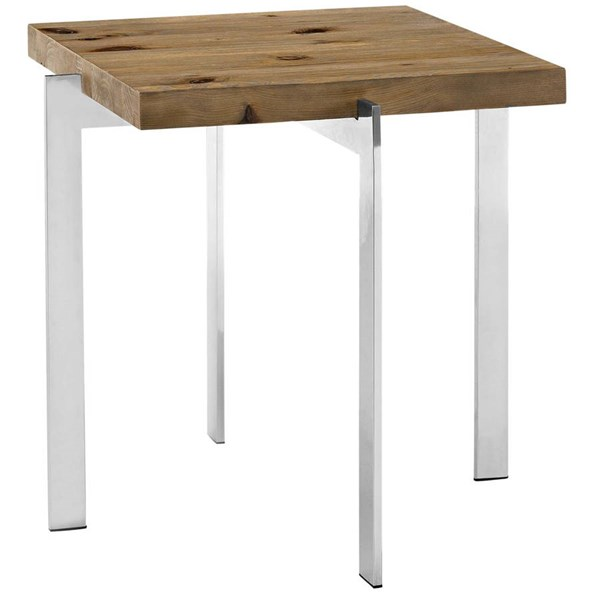 Modway Furniture Diverge Side Table EEI-2647-BRN