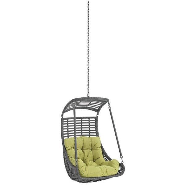 Modway Furniture Jungle Peridot Outdoor Swing Chair Without Stand EEI-2655-PER-SET