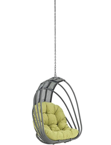 Modway Furniture Whisk Peridot Outdoor Patio Swing Chair without Stand EEI-2656-PER-SET