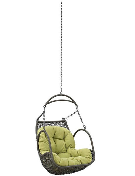 Modway Furniture Arbor Peridot Outdoor Patio Swing Chair Without Stand EEI-2659-PER-SET