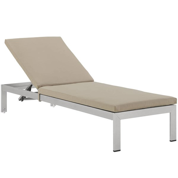 Modway Furniture Shore Outdoor Chaise with Cushion EEI-2660-OCHS-VAR