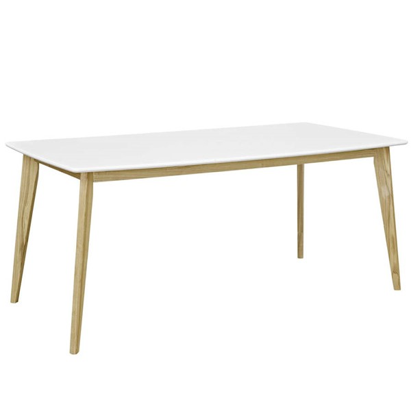 Modway Furniture Stratum White 71 Inch Dining Table EEI-2668-WHI